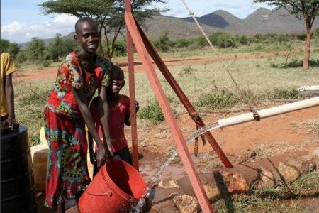 Well Aware project in Alamach, Kenya
